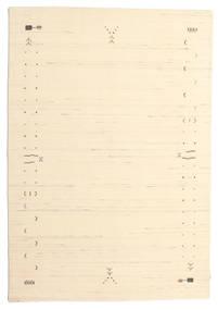 Gabbeh Loom Frame - Blanco Crudo Alfombra 160X230 Moderna Beige/Beige Oscuro (Lana, India)