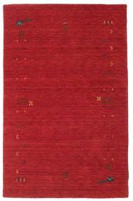 Gabbeh Loom Frame - Óxido Rojo Alfombra 100X160 Moderna Roja (Lana, India)