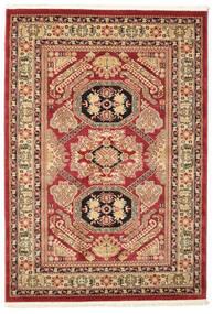Kazak Mirvan Alfombra 140X200 Oriental Rojo Oscuro/Marrón Oscuro ( Turquía)