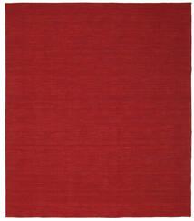 Kilim Loom - Rojo Oscuro Alfombra 250X300 Moderna Tejida A Mano Roja Grande (Lana, India)