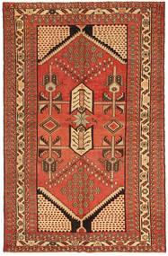Saveh Patina Alfombra 135X208 Oriental Hecha A Mano Roja/Marrón (Lana, Persia/Irán)