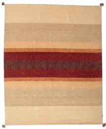 Loribaf Loom Alfombra 172X241 Moderna Hecha A Mano Beige Oscuro/Rojo Oscuro (Lana, India)