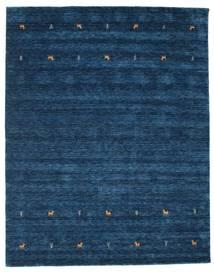 Gabbeh Loom Two Lines - Azul Oscuro Alfombra 240X290 Moderna Azul Oscuro (Lana, India)