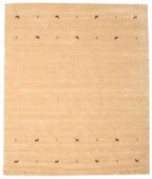 Gabbeh Loom Two Lines - Beige Alfombra 240X290 Moderna Beige Oscuro/Marrón Claro (Lana, India)