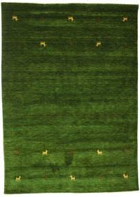 Gabbeh Loom Two Lines - Verde Alfombra 160X230 Moderna Verde Oscuro (Lana, India)