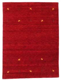 Gabbeh Loom Two Lines - Rojo Alfombra 140X200 Moderna Roja/Rojo Oscuro (Lana, India)