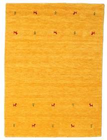 Gabbeh Loom Two Lines - Amarillo Alfombra 140X200 Moderna Naranja (Lana, India)