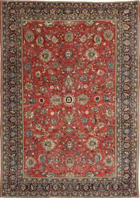 Sarough Patina Alfombra 236X347 Oriental Hecha A Mano Rojo Oscuro/Gris Oscuro (Lana, Persia/Irán)