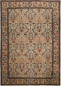 Tabriz Patina Alfombra 238X338 Oriental Hecha A Mano Marrón/Gris Oscuro (Lana, Persia/Irán)