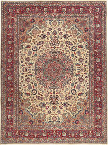 Mashad Patina Alfombra 250X340 Oriental Hecha A Mano Rojo Oscuro/Marrón Oscuro Grande (Lana, Persia/Irán)
