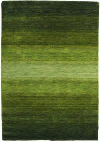 Gabbeh Rainbow - Verde Alfombra 140X200 Moderna Verde Oscuro/Verde Oliva (Lana, India)