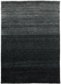 Gabbeh Up To Down Alfombra 160X230 Moderna Negro/Verde Oscuro (Lana, India)