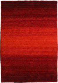 Gabbeh Rainbow - Rojo Alfombra 160X230 Moderna Óxido/Roja/Rojo Oscuro/Marrón Oscuro (Lana, India)