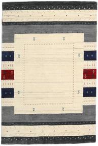 Loribaf Loom Designer Alfombra 120X180 Moderna Beige/Gris Oscuro (Lana, India)