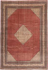 Sarough Patina Alfombra 255X360 Oriental Hecha A Mano Rojo Oscuro/Marrón Oscuro Grande (Lana, Persia/Irán)