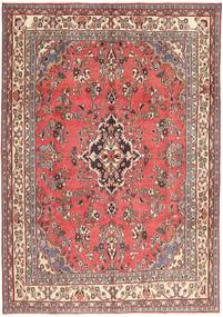 Hamadan Patina Alfombra 203X298 Oriental Hecha A Mano Rosa Claro/Rojo Oscuro (Lana, Persia/Irán)