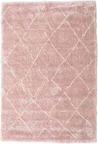 Shaggy Agadir - Soft Rose/Off-Blanco Alfombra 200X300 Moderna Rosa Claro/Violeta Claro ( Turquía)
