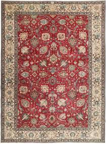 Tabriz Patina Alfombra 284X390 Oriental Hecha A Mano Marrón Oscuro/Gris Claro Grande (Lana, Persia/Irán)