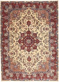 Kashmar Patina Alfombra 250X340 Oriental Hecha A Mano Rojo Oscuro/Beige Grande (Lana, Persia/Irán)