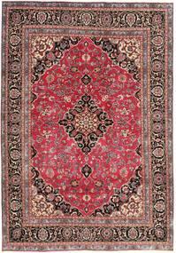 Mashad Patina Alfombra 195X278 Oriental Hecha A Mano Rojo Oscuro/Óxido/Roja (Lana, Persia/Irán)