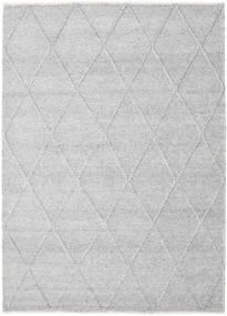 Svea - Gris Plateado Alfombra 160X230 Moderna Tejida A Mano Gris Claro/Blanco/Crema (Lana, India)