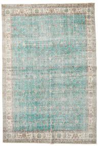 Taspinar Alfombra 207X300 Oriental Hecha A Mano Gris Claro/Azul Turquesa (Lana, Turquía)