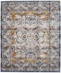 Minna - Dorado Alfombra 244X304 Moderna Gris Claro/Gris Oscuro ( Turquía)