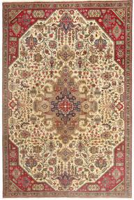 Tabriz Patina Alfombra 190X280 Oriental Hecha A Mano Marrón Claro/Beige Oscuro (Lana, Persia/Irán)