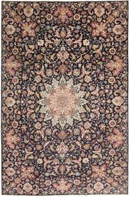 Najafabad Patina Alfombra 235X360 Oriental Hecha A Mano Gris Oscuro/Rojo Oscuro (Lana, Persia/Irán)