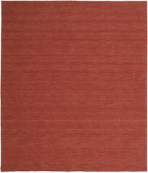 Kilim Loom - Óxido Alfombra 250X300 Moderna Tejida A Mano Rojo Oscuro Grande (Lana, India)
