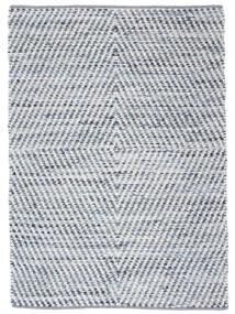 Hilda - Denim/Blanco Alfombra 170X240 Moderna Tejida A Mano Beige/Azul Claro (Algodón, India)