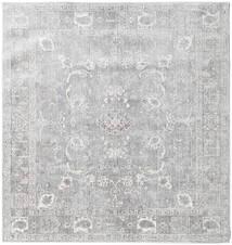 Maharani - Gris Alfombra 150X150 Moderna Cuadrada Gris Claro ( Turquía)