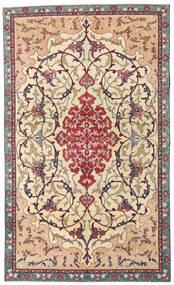 Najafabad Patina Alfombra 140X236 Oriental Hecha A Mano Beige/Marrón Oscuro (Lana, Persia/Irán)