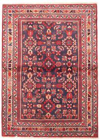 Lillian Alfombra 112X155 Oriental Hecha A Mano Púrpura Oscuro/Óxido/Roja (Lana, Persia/Irán)