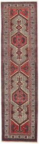 Sarab Patina Alfombra 87X327 Oriental Hecha A Mano Marrón Oscuro/Marrón (Lana, Persia/Irán)