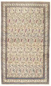 Kerman Patina Alfombra 85X147 Oriental Hecha A Mano Beige/Gris Claro (Lana, Persia/Irán)