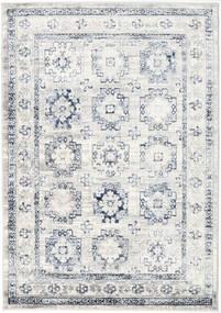 Menara Everyday - Gris/Azul Alfombra 160X230 Moderna Gris Claro/Blanco/Crema ( Turquía)