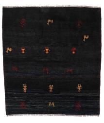 Gabbeh Rustic Alfombra 153X169 Moderna Hecha A Mano Negro (Lana, Persia/Irán)