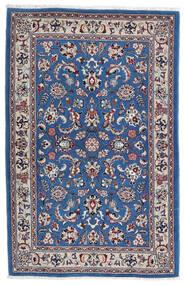 Kashmar Alfombra 105X160 Oriental Hecha A Mano Gris Claro/Azul Oscuro (Lana, Persia/Irán)