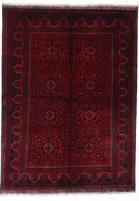 Kunduz Alfombra 147X198 Oriental Hecha A Mano Rojo Oscuro (Lana, Afganistán)
