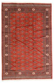 Pakistan Bukara 2Ply Alfombra 186X280 Oriental Hecha A Mano Rojo Oscuro/Óxido/Roja (Lana, Pakistán)