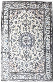Nain Alfombra 194X295 Oriental Hecha A Mano Blanco/Crema/Gris Oscuro (Lana, Persia/Irán)