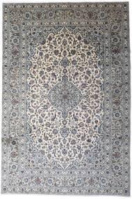 Keshan Alfombra 246X366 Oriental Hecha A Mano Gris Claro/Gris Oscuro (Lana, Persia/Irán)