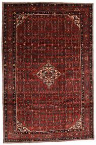 Hosseinabad Alfombra 200X300 Oriental Hecha A Mano Rojo Oscuro (Lana, Persia/Irán)