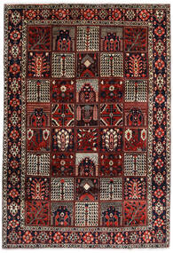 Bakhtiar Alfombra 225X327 Oriental Hecha A Mano Rojo Oscuro/Marrón Oscuro (Lana, Persia/Irán)