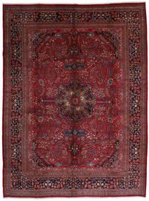 Mashad Alfombra 306X408 Oriental Hecha A Mano Rojo Oscuro/Marrón Oscuro Grande (Lana, Persia/Irán)
