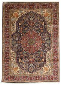 Tabriz Alfombra 200X280 Oriental Hecha A Mano Marrón Oscuro/Marrón Claro (Lana, Persia/Irán)