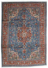 Tabriz Alfombra 204X290 Oriental Hecha A Mano Gris Oscuro/Gris Claro (Lana, Persia/Irán)