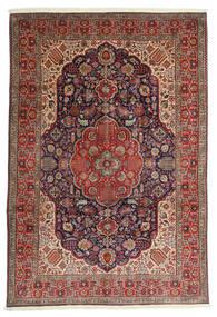 Tabriz Alfombra 200X297 Oriental Hecha A Mano Rojo Oscuro/Marrón Oscuro (Lana, Persia/Irán)