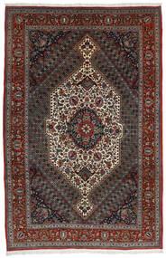 Bakhtiar Alfombra 204X314 Oriental Hecha A Mano Rojo Oscuro/Gris Oscuro/Marrón Oscuro (Lana, Persia/Irán)